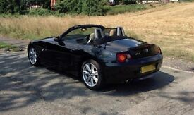 BMW Z4 2.2i SE Convertible 2004 (STUNNING - FULL YEAR ON MOT + EXTRAS)