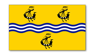2X Exterior Hebrides Emblema Bandera Pegatinas de Vinilo Coche Furgoneta Camión