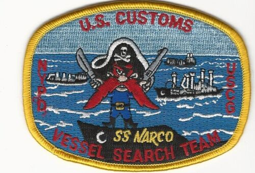 USCS Vessel Search Teams Yousemite Sam patch Police Sheriff State