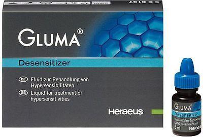 3 X Gluma Heraeus Kulzer Dental Desensitizer
