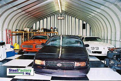 Steel P20x40x12 Metal Shop Buildings Hot Rod Auto Garage Welding Workshop Kit