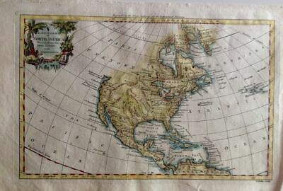 An Accurate Map of North America.1761/1780.America Central and