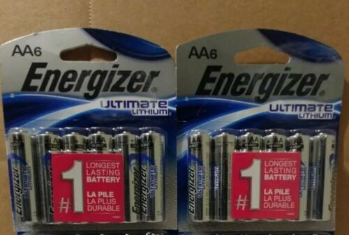 12 count Energizer AA Ultimate Lithium  Batteries