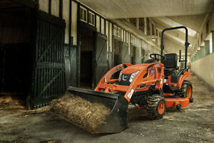 """Kioti CS2410 4X4 Tractor with Loader and 60"""" Mower"""