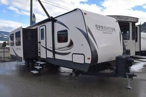 2017 Sprinter Campfire - Travel Trailers 33BH