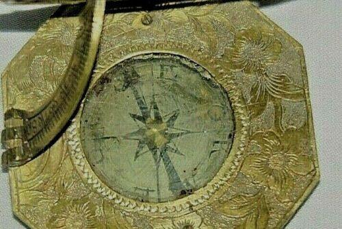 ANTIQUE LUDIANS THEODODOR MULLER UNIVERSAL EQUINOCTIAL SUNDIAL.COMPASS