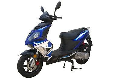 Torino Aero MKII  Scooter 2016 Brand New – Blue & Black $2,790 Ride-Away (LAMS)