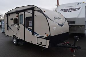 2017 Sonic Lite - Travel Trailers Lightweight 169VBH
