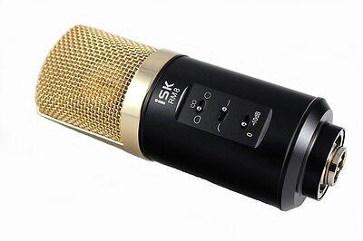 iSK RM- 8 Studio Condenser Microphone + Accessories