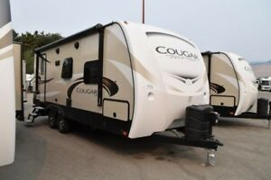 2018 Cougar 1/2 Ton TT - Travel Trailers 22RBSWE