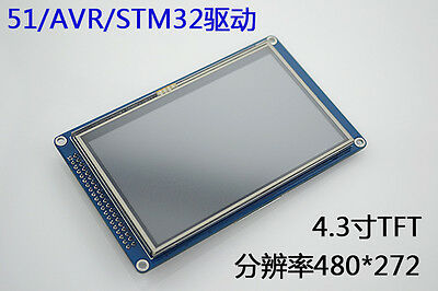 4.3 4.3 Inch 480272 Tft Lcd Module Display Touch Panel Ssd1963 51avrstm32