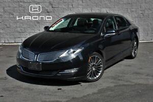 2014 Lincoln MKZ Hybrid, caméra, toit ouvrant, GPS, cuir, ++ 96$