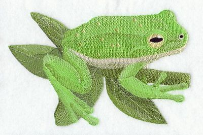 Embroidered Fleece Jacket - Green Tree Frog D1788 Sizes S - XXL
