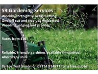 Grass Cutting and Garden Maintenance Service covering Aberdeen and Shire