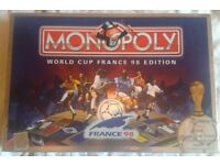 World Cup France 98 Monopoly - 100% complete & immaculate - selling other items