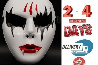 Mask Adult Mens Guy Fawkes Anonymous USA Occupy Halloween Ghost dance dracula - Occupy Masks