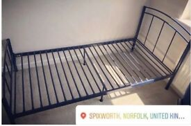 Single bed frame - Navy from NEXT