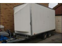 Blue Line Box Trailer and Suncanopy with Awning