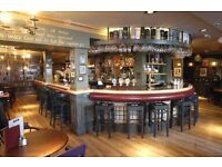 Bar & Floor Staff required for The Queens Arms