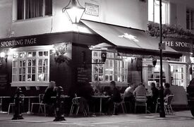 Full time bar/floor team member required for busy Chelsea local