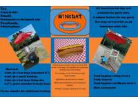 ALL AMERICAN HOT DOG CART FOR HIRE