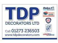 TDP Professional Painters Decorators Plasterers Worthing Brighton Burgess Hill