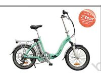 Electric folding bike lightweight lithium battery