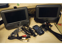 "Venturer Portable DVD Player (with 2-7"" Screens)"