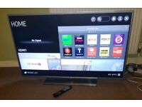LG 50 inch supper slim line smart led with remote control