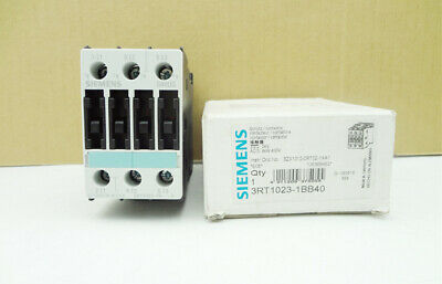 New 3rt1023-1bb40 3rt1 023-1bb40 Plc Contactor 3 Pole 40 Amp