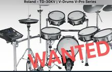 WANTED Roland Electonic Vdrums drums . Immediate cash paid Brisbane City Brisbane North West Preview