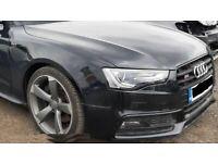 Front end assembly unit Audi A5 S5 COUPE 2015 bonnet, bumper..etc UK version