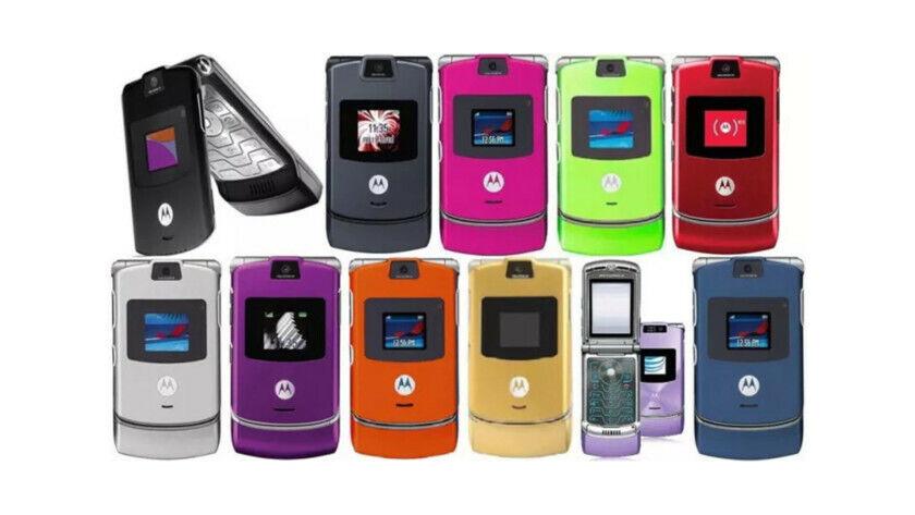 как выглядит Motorola RAZR V3 Unlocked Flip Mobile Phone BOX PACK фото