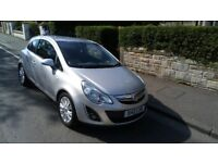 vauxhall corsa 1.2 se 12plate 1 owner low mileage silver leather alloys climate lovley car 3950