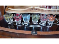 Set of 6 shot glasses