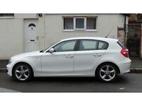 *BMW 1 SERIES 116i SPORT* WHITE (1 PREVIOUS OWNER)