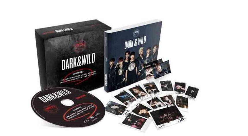 BTS - BTB 1 Album - DARK & WILD