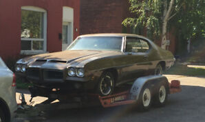 1972 GTO complete running, numbers matching