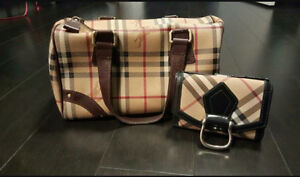 Burberry Purse and Matching Wallet!