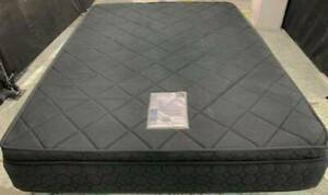 Excellent black thick Pillow Top queen mattress only for sale.