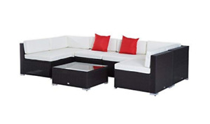 Outdoor Patio Furniture Set (7 Piece)