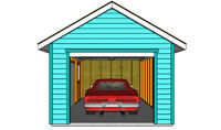 Garage in West End (Close to Portage Ave.)