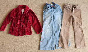 Girl, size 5 clothes- great condition