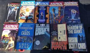 Sci-Fi Book Lot