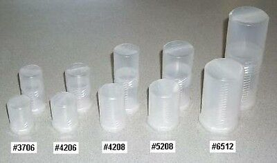 """#3706-2 - Two  Eyepiece Cases - 1.4"""" (37mm) ID, 2.4"""" to 3.2"""" long - Bolt Style"""