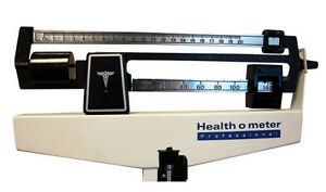 LIKE NEW!!! HealthoMeter Physician Scale SEE VIDEO