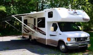 28 foot class c triple e, corsair, travelaire, motor home wanted