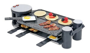 Grill/Raclette Swissmar Swivel with Cast Aluminum & Granite top