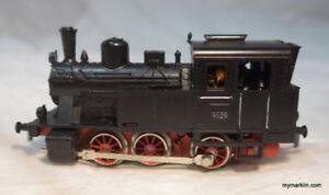 Marklin steam engine 3029, HO, AC -  3 rail model train