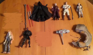 Star Wars figures. $3 each or seven for $20.